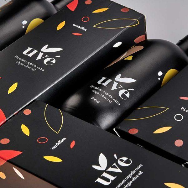 Aceite de oliva uvé cardelina
