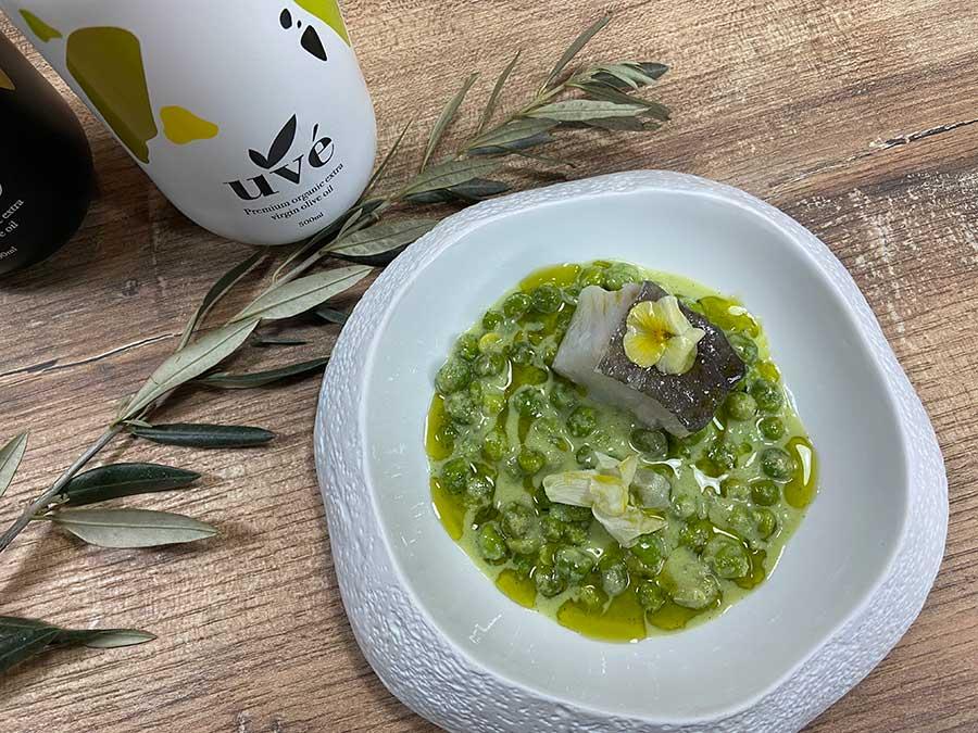 Receta con aceite de oliva Uve