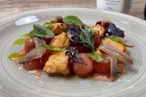 Ensalada de tomates con Uve